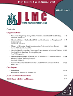 Journal of Lumbini Medical College